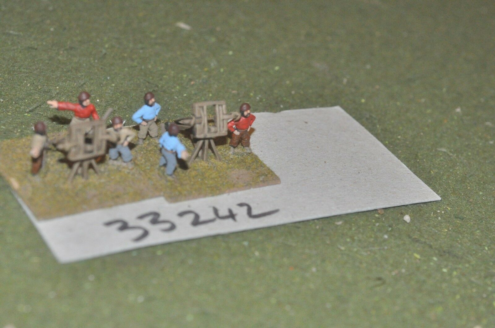 15mm medieval Mongal-Heavy Caballo 18 figuras-CAV (33242)