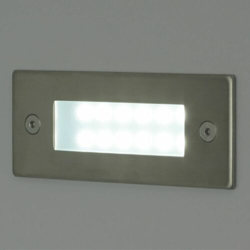 LED Recessed Light 1W 230V Wall Stairs Walkway Footpath IP54 Spots LED-7