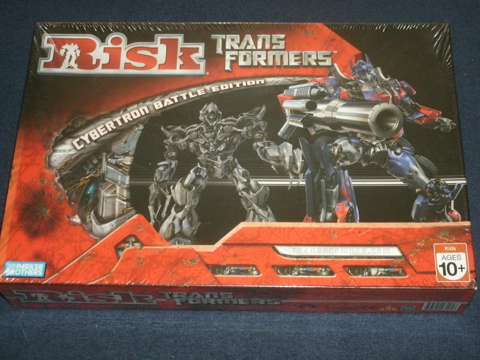 RISK  Transformers 'Cybertron Battle Edition'  Parker Bros. Ages 10+ Megatron