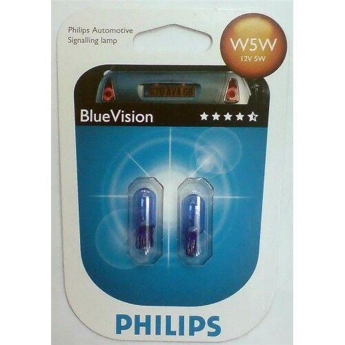 2 AMPOULE VEILLEUSE PHILIPS BLUE XENON W5W BMW 3 Coupé E46 318 Ci 118 143 150ch