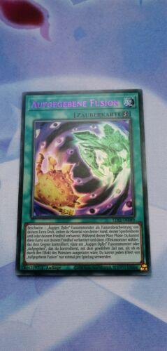 Near Mint 1.Ed! Aufgegebene Fusion LDS1-DE049 YUGIOH! Purple Ultra Rare