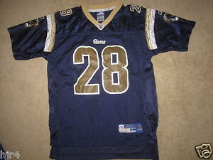 851aaa079 Marshall Faulk  28 St. Louis Rams NFL Jersey Youth L 14-16 LG