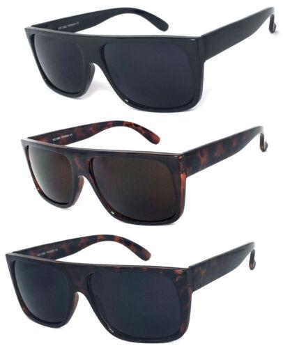2 or 3 Pair Retro Square Frame Sunglasses Men Women Flat Top Suepr Dark UV400 1