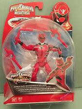 Power Rangers Super Megaforce Jungle fury  red ranger action figure