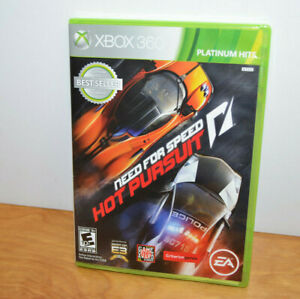Xbox 360 NEED FOR SPEED HOT PURSUIT Video Game Racing Working 2011 EA