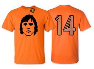 Cruyff-14-Holland-Football-T-shirt-Netherlands-World-Cup-Euros-Fan-Shirt-NEW