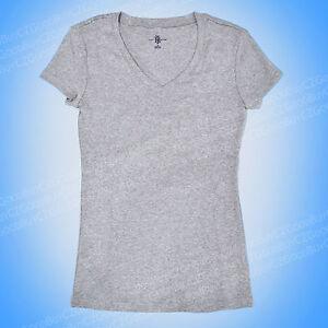 Tommy Hilfiger Women Short Sleeve V Neck Tee 100/% COTTON ladies stretch T shirt