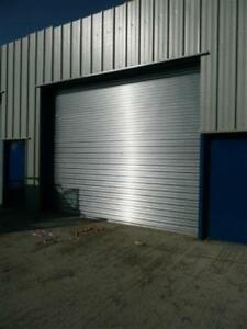 ELECTRIC, Galvanized Steel Commercial ROLLER SHUTTER DOOR - 5m x 3.6m