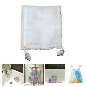 Bath Toy Tidy Storage Kids Baby Time Suction Cup Bag Mesh Bathroom Organiser Net 6000002011800