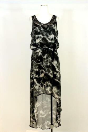 Express Black /& Gray Maxi Dress size XS