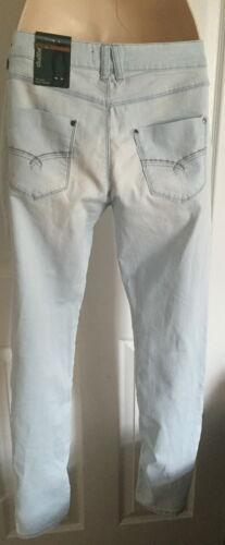 Bnwt m/&s femme woman premium bleached jeggings taille 12//14L//16L//18M//20M//22L