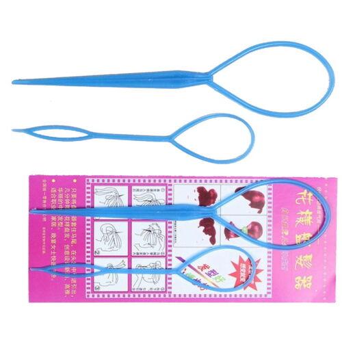 Womens Topsy Tail Hair Braid Hair Device Braid Maker Styling Tool Hair Accessor