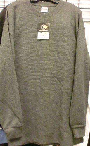 Mens HEAVYWEIGHT THERMAL TOP Long Sleeve Shirts NWT