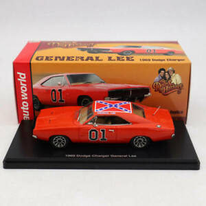 Auto-World-1-43-Dodge-Charger-General-Lee-1969-Red-AWRSS1151-Limited-Edition