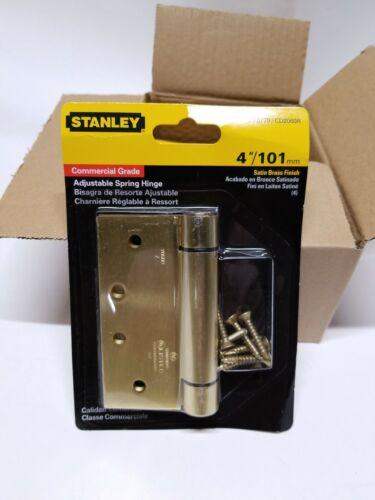 "1pc Stanley 53-0779  CD2060R  4/"" Adjustable Spring  Hinge ."