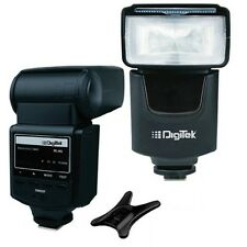 DIGITEK ELECTRONIC FLASH SPEEDLITE DFL-003 FOR CANON / NIKON / SONY/ OLYMPUS SMP