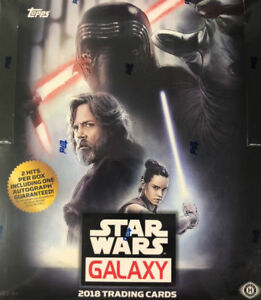 2018 Topps Finest Star Wars Factory Sealed Hobby Box