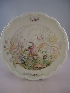 Royal-Doulton-Wind-in-the-Willows-Plate-Rambling-in-the-Wild-Wood-1st-Quality