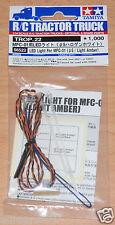 Tamiya 56522 LED Light For MFC-01 (5mm/Light Amber) (MFC-02/MFC-03), NIP