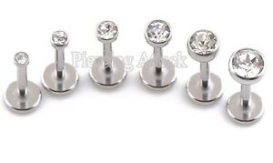 2mm-5mm-Gem-Triple-Helix-Stud-Labret-Bar-Internally-Threaded-16g-18g-6mm-8mm