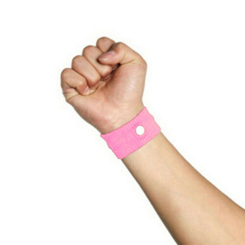 Anti Nausea Morning Sickness Motion Travel Sick Wristband Car Sea Plane Band UK