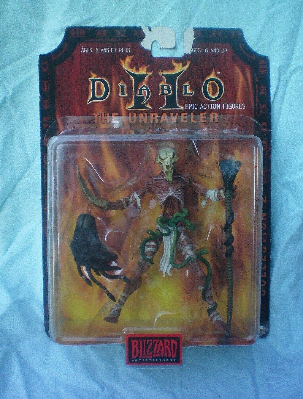 Diablo 2 unraveler collection 2 epischen action - figuren von blizzard entertainment, selten