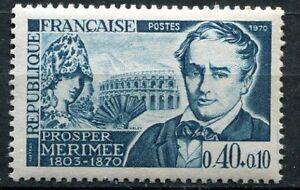 Stamp / Timbre France Neuf Luxe N° 1624 ** Celebrite Prosper Merimee Ecrivain