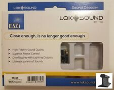 """ESU 58818 LokSound 5 micro DCC//MM//SX//M4 /""""Leerdecoder/"""" N//TT//H0 Next18"""