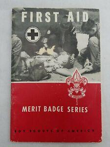 First aid merit badge book