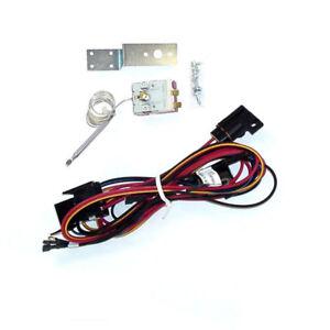 maradyne mfa100 6v electric fan wiring harness kit w adjustable image is loading maradyne mfa100 6v electric fan wiring harness kit