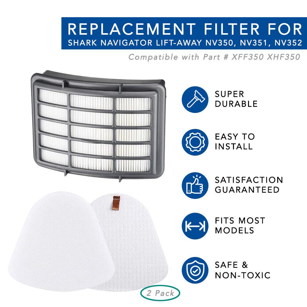ESF1W PakTrade Filtro HEPA//Microfiltro per Aspirapolvere ELECTROLUX Z 5000-5295 Excellio EFH 12