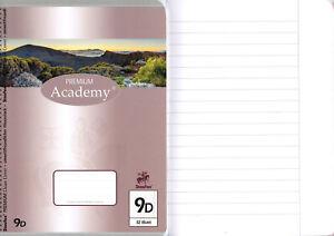 3 Schulhefte Lineatur 27 liniert DIN A5 16 Blatt Premium Schulheft