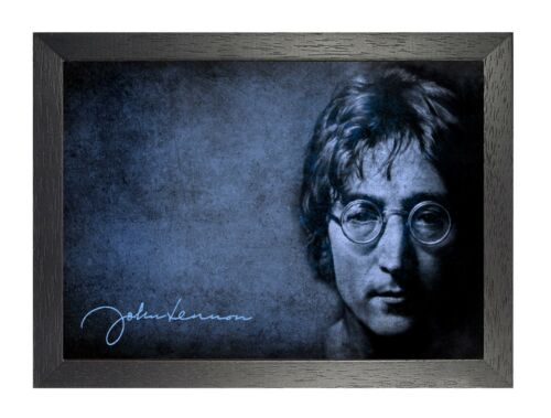 John Lennon Blue English Singer Peace The Beatles Rock Music Star Photo Glasses