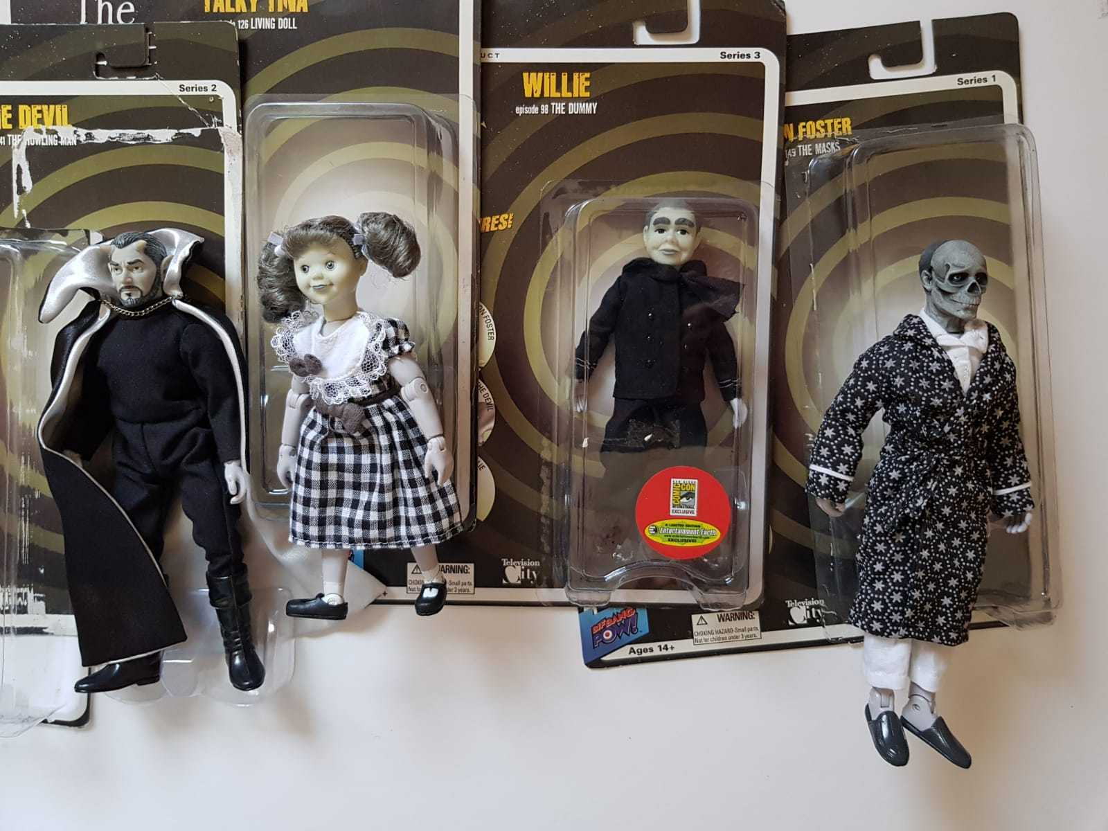 The Twilight Zone action figures 8  2010- 7 sets in different condition
