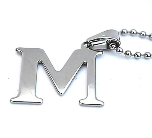 Hot Unisex/'s Fashion Silver Stainless Steel Pendant Necklace Chain Jewelry Gift