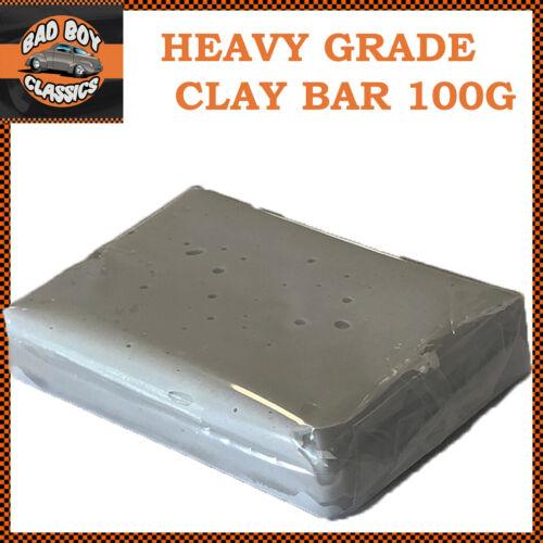 Clay Bar Pre Detalles De Coche Waxing Pulir Tratamiento fuerte grado