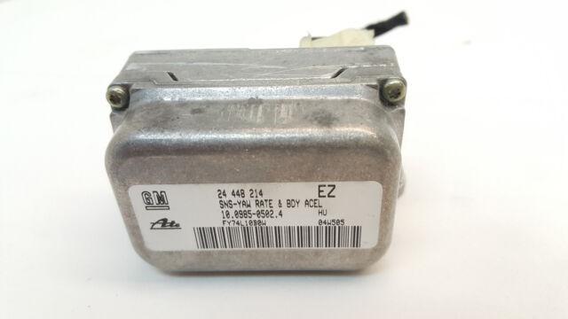 OPEL ASTRA H - ESP sensore di rotazione ACCELLERAZIONE LATERALE 24448214