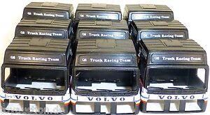 9-X-Camion-Cabine-Noir-Volvo-Q8-Truck-Course-Charge-Bastel-Deco-1-87-H0-A