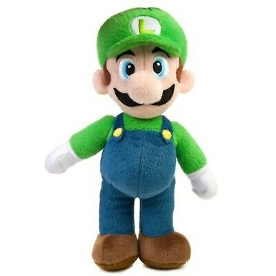 2Pcs Super Mario Bros Plush Doll Mario Luigi Soft Toy Stuffed Animal Teddy 25cm