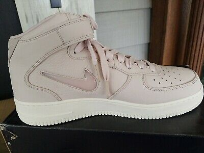 Nike Mens Air Force 1 Retro PRM Jewel Pack Silt Red//Sail Leather Size 8