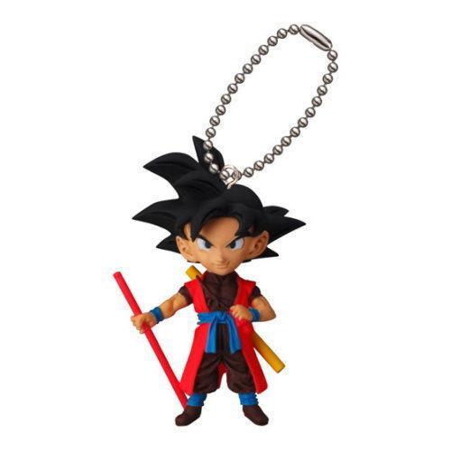 Goku Xeno Dragon Ball Gashapon Keychain UDM Burst 21