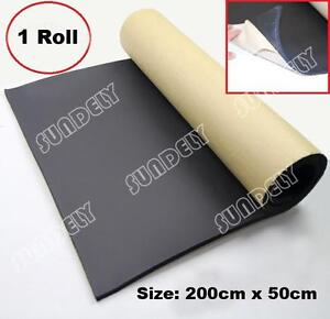 SUNDELY 1 Roll Self Adhesive Closed Cell Foam 10mm Car Sound