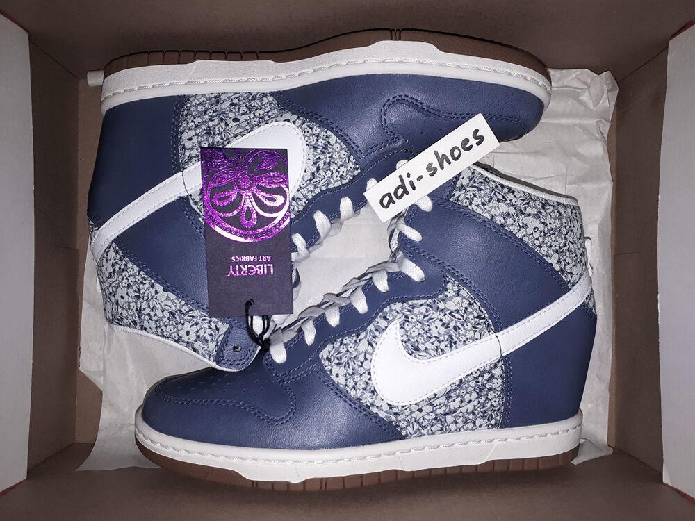 Nike Dunk Sky Hi Liberty Of London QS Lib US 6,5 8 YOTH 529040-400 Air Force SP- Chaussures de sport pour hommes et femmes