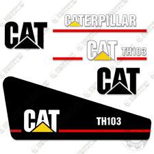 Caterpillar Th103 Decal Kit Telescopic Forklift 3m Vinyl