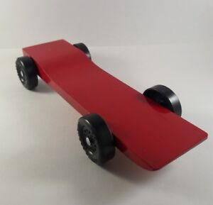 Fast Fully Built Complete Pinewood Derby Car Ready To Race Flash