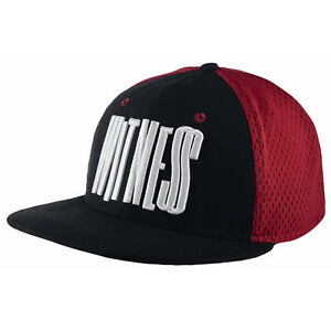 2256e725c Details about Nike Lebron Witness Snapback Hat Black/Red/White New
