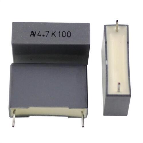 5; r60en4470aa30k; 4,7uf 10x MFP condensateur radial 4,7µf 100v DC; rm22