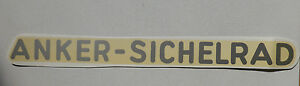 Angemessen Anker-sichelrad Schriftzug Wasserabziehbild Abziehbild 230x18 Mm,53710a Silber Accessoires & Fanartikel