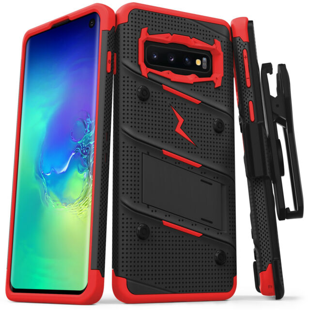 on sale 9140a 407a6 Samsung Galaxy S10 / S10 Plus / S10e Case, Zizo Bolt Series with Holster
