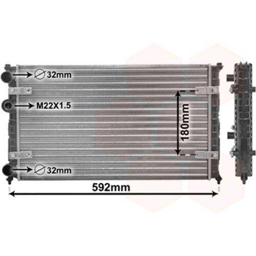 Kühler, Motorkühlung 49002023